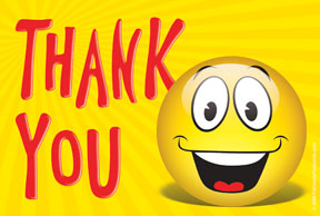 15 Smileys with Thanks Message | Smiley Symbol