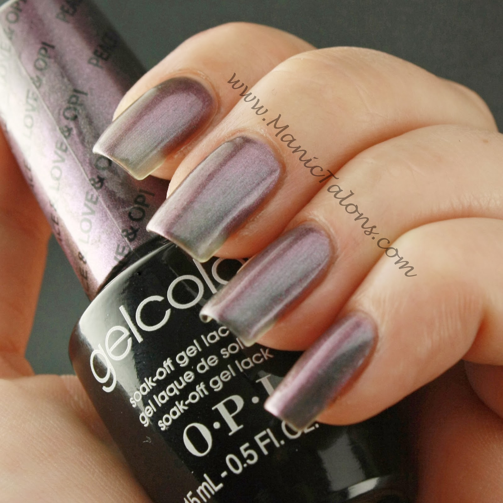 Chrome Gel Nail Polish Opi