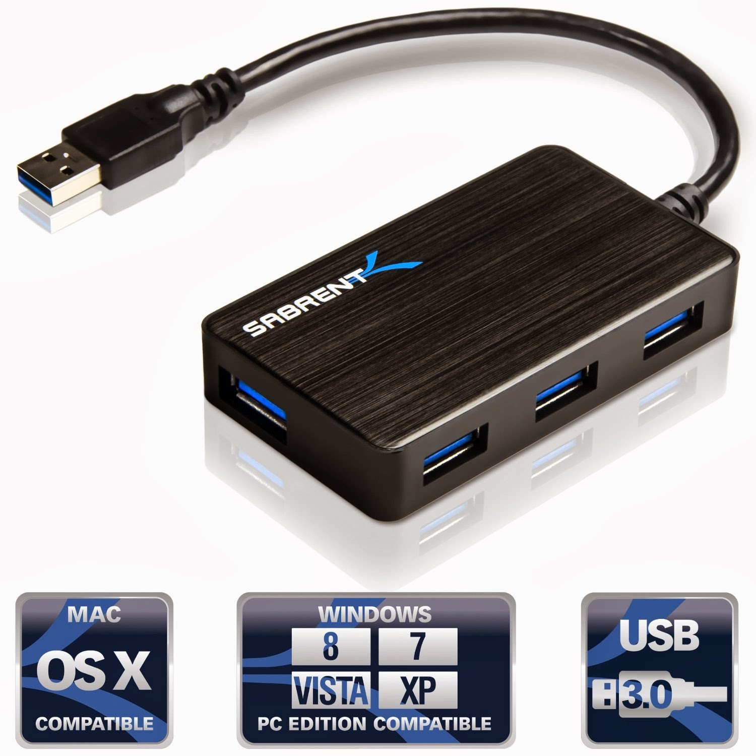 Review Daily: Review Sabrent 4 Port Portable USB 3.0 Hub
