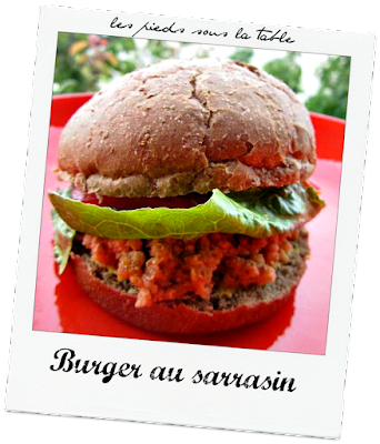Burger au sarrasin