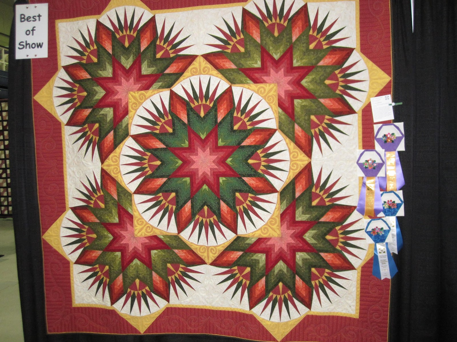 Julie's Quilts and Costumes: Quilt Show ribbon : east cobb quilt guild - Adamdwight.com