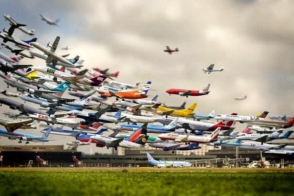 فيديو مدهش كيف تهبط الطائرات فى اكثر المطارات ازدحاما