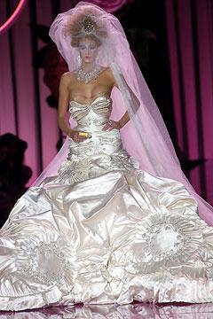 Heel my sole au revoir galliano for Melania trump wedding dress
