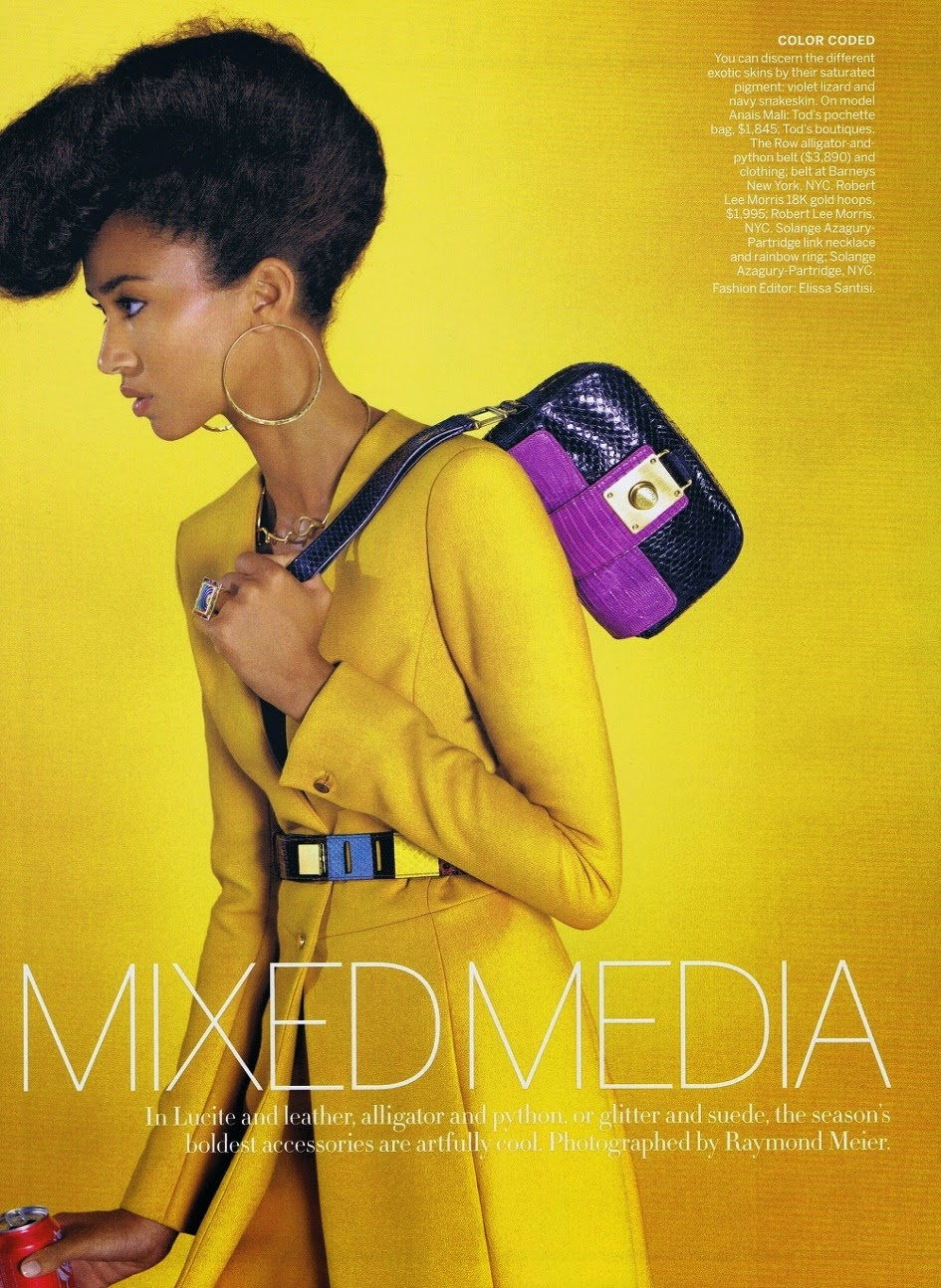 Anais Mali by Reymond Meier for Vogue US August 2011 | Ses Rêveries