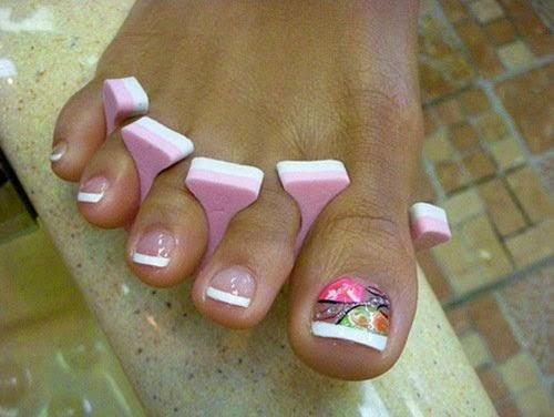 decoracion de uñas 2015 para pies | Cristina
