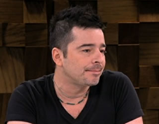 Carlos Tufvesson no Marília Gabriela Entrevista (Foto: Reprodução)