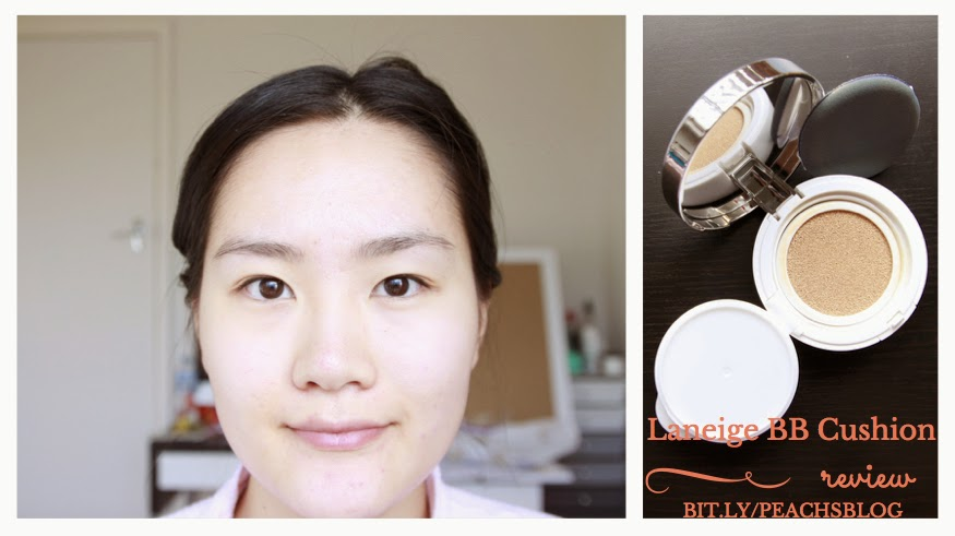 Laneige BB Cushion 13 True Beige Review | my gift to you | bit.ly/peachsblog