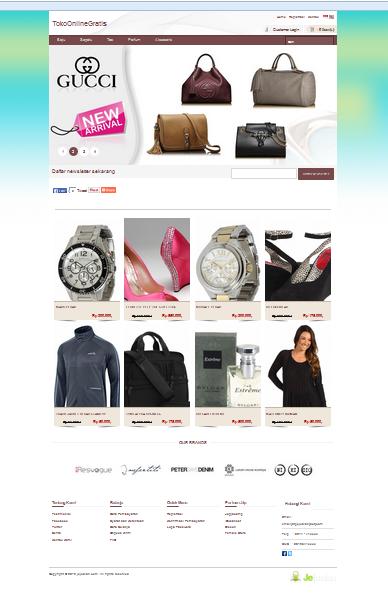 Cara Membuat Toko Online Premium Gratis Kurang Dari 20 Detik