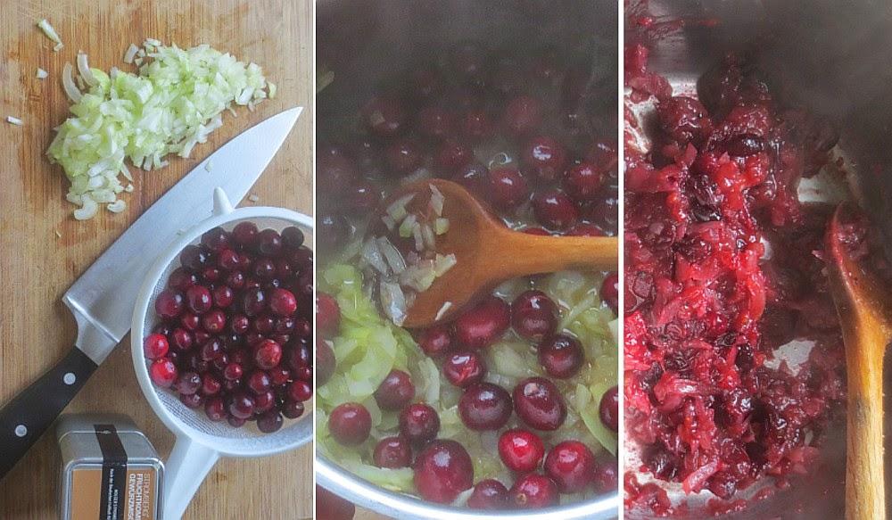 Zubereitung Cranberry-Chutney