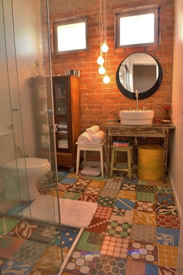 Baños Ambiente Rustico:Diário de Uma Quase   : Banheiros Rústicos