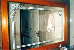 Espelhos Jateados de Banheiro