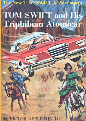 Tom Swift and his atomic car