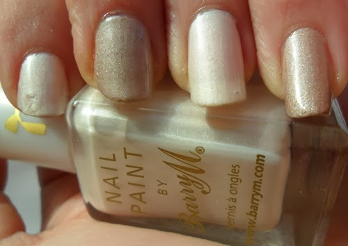 Barry M Silk Truffle and Pearl