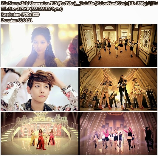 MV Girls' Generation-TTS (소녀시대-태티서 / TaeTiSeo) - Twinkle (Melon Fixed Ver Full HD 1080p)