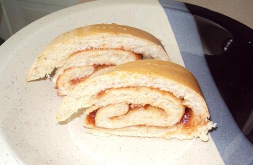 Receita de pão recheado com goiabada direto do prato do leitor.