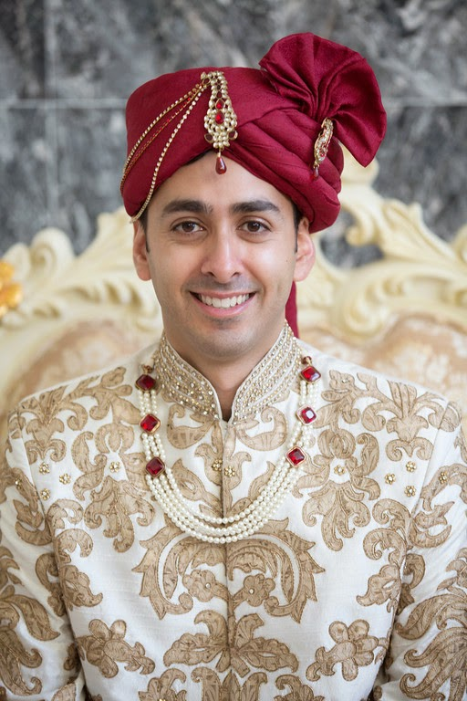 indian wedding, south asian wedding, groom, portrait, sherwani