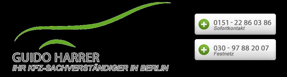 Guido Harrer KFZ-Sachverständiger in Berlin