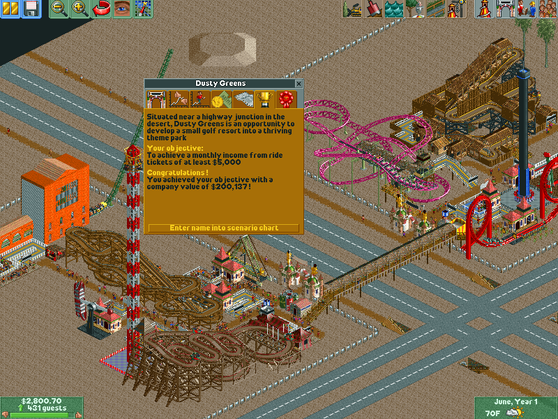 how to get more money in rct2