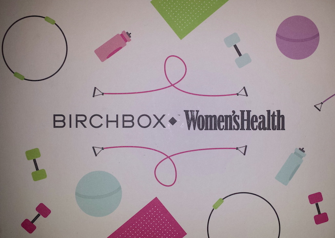 Birchbox and Women's Health January 2015 box
