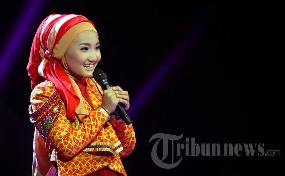 Fatin Shidqia Lubis finalis X Factor Indonesia 2013