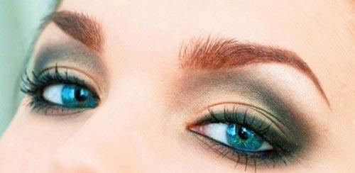 sombras para maquillarse los ojos