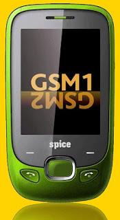 Spice M-5455 Flo Touchscreen Mobile