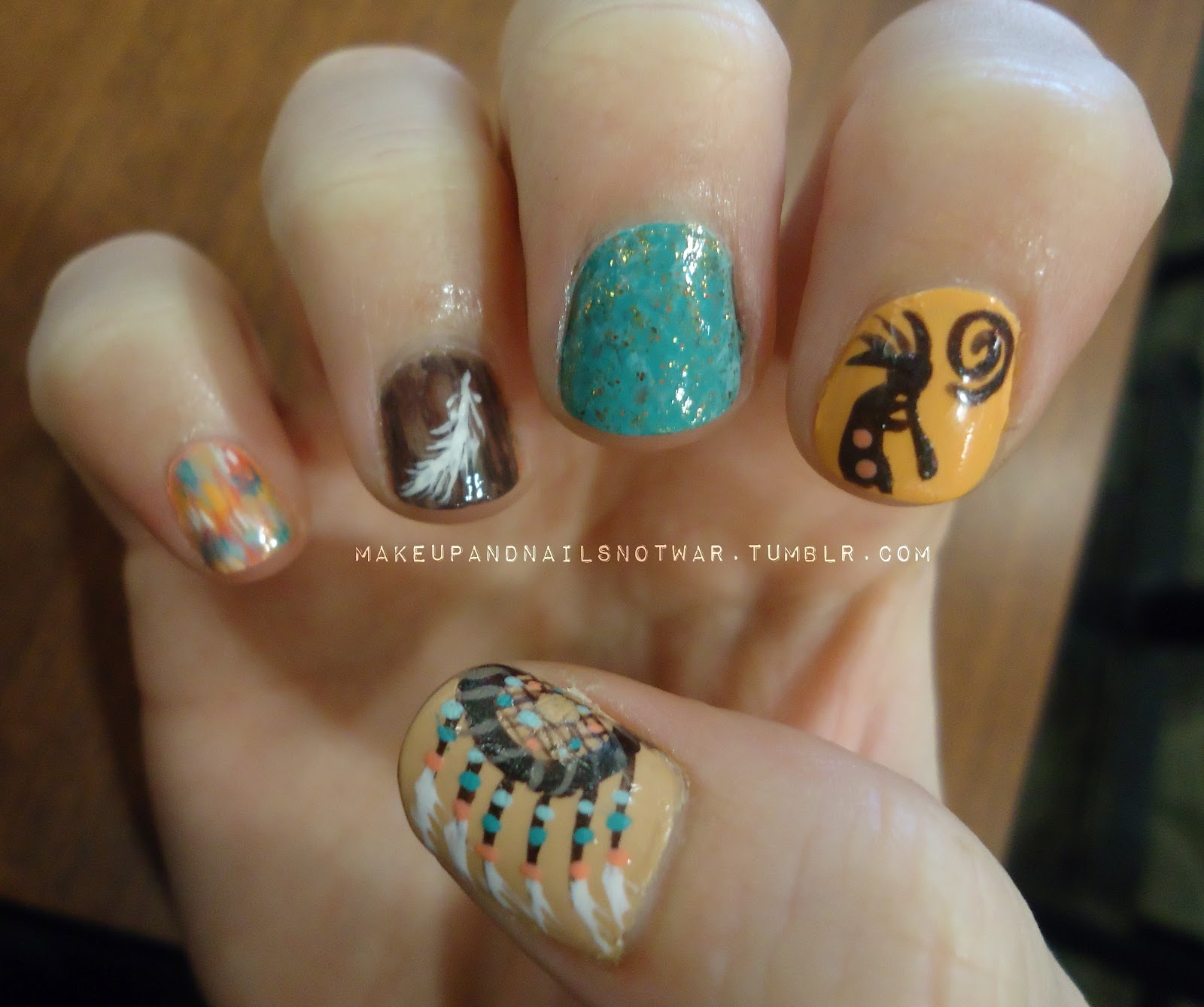 Makeup and Nails, Not War: American Southwest Nails