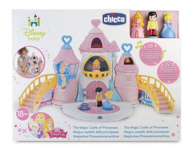 TOYS : JUGUETES - CHICCO Castillo Mágico de las Princesas Disney Producto Oficial 2015 | Chicco | A partir de 18 meses Comprar en Amazon España