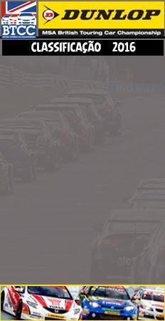 BTCC - Classificação Pilotos