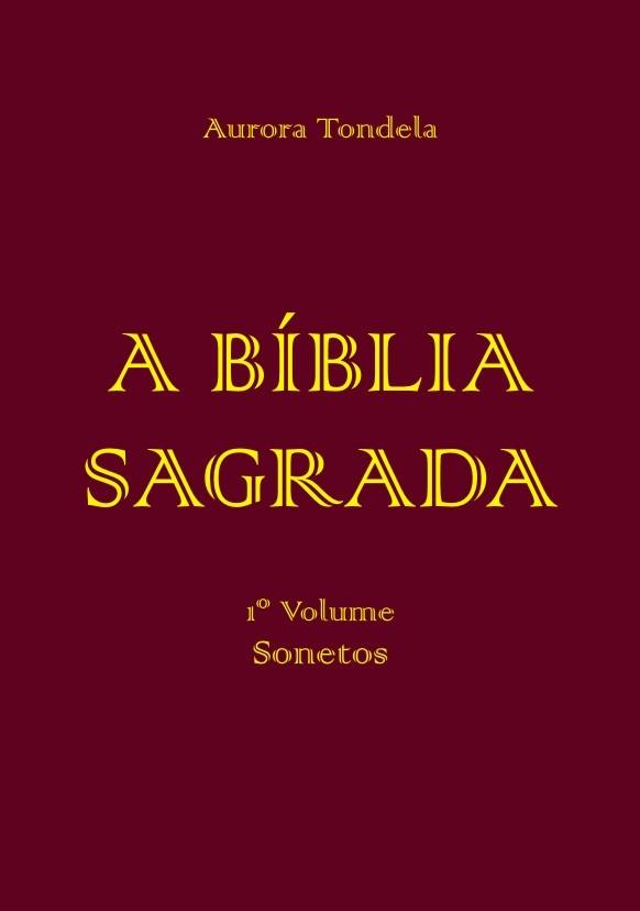 Livro - A Bíblia Sagrada – sonetos