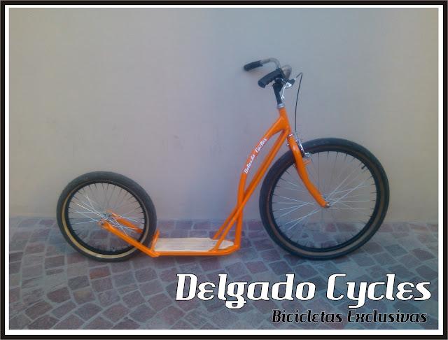 Monopatin Kustom (Footbike, BIKEBOARD)