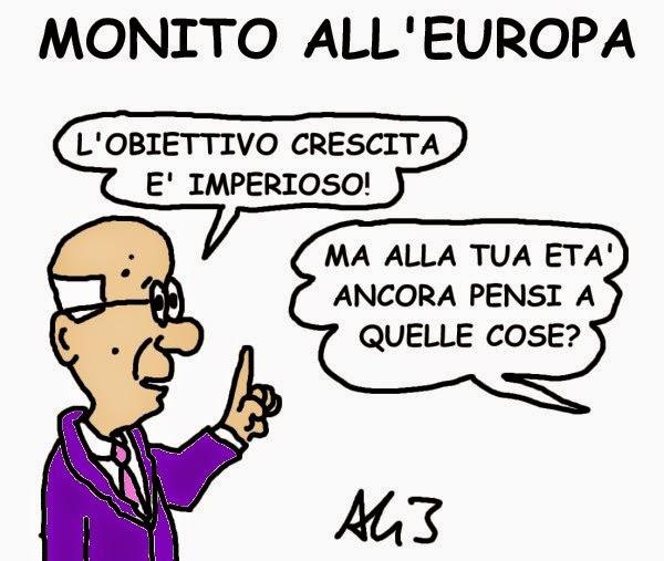 vignetta napolitano, UE