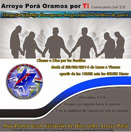 Arroyo Porá Oramos por Ti