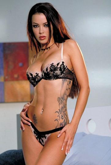 Sophia Santi Sexy in Lingerie