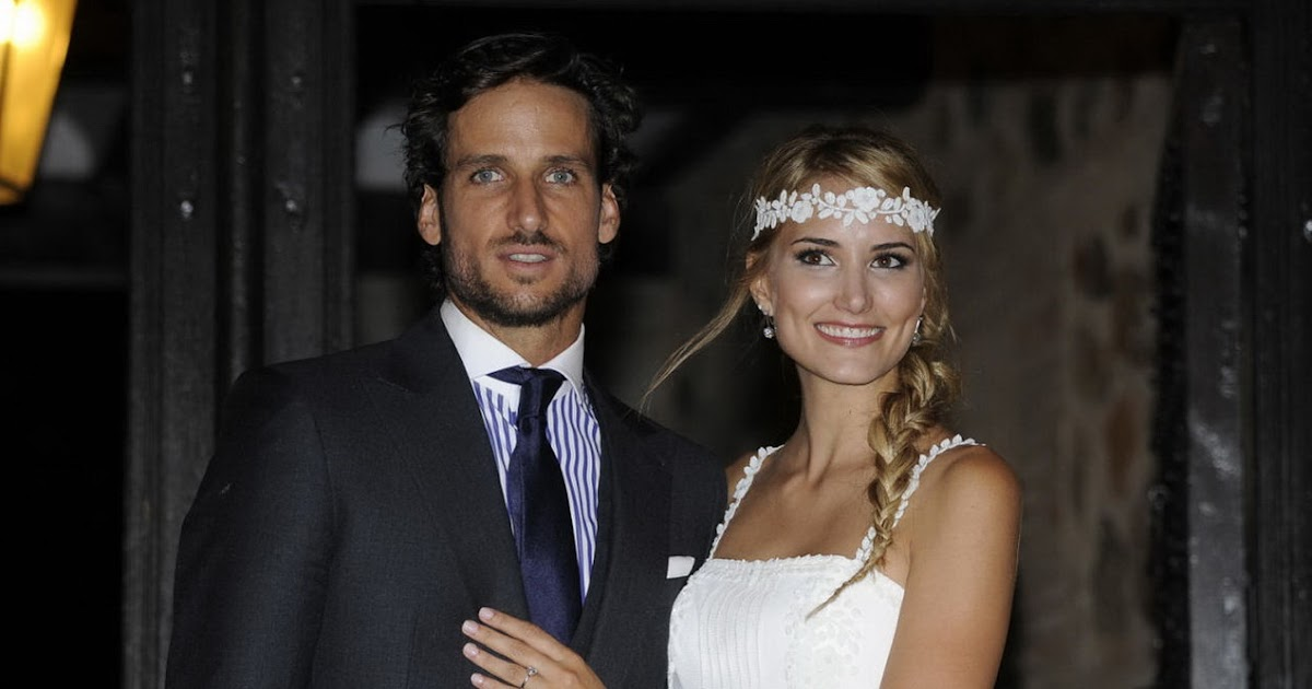 Earl Blue Tennis Feliciano Lopez Got Married