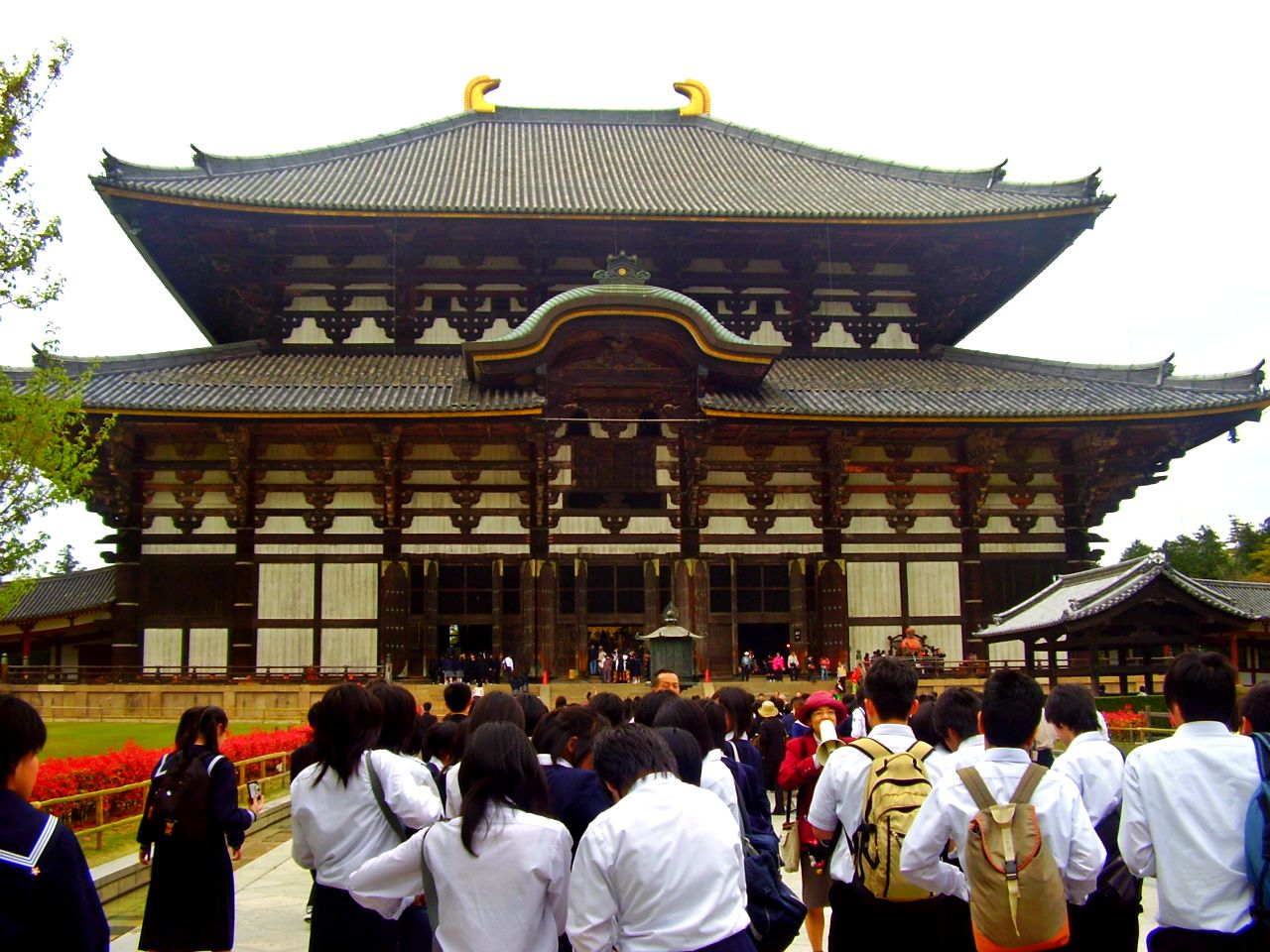 Templo Todaiji en Nara Japon