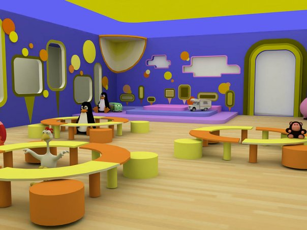3design corner designing children daycare Dacare room designs