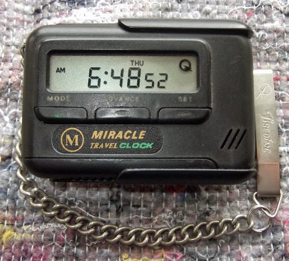 Miracle Travel Clock Инструкция