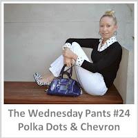 Sydney Fashion Hunter - The Wednesday Pants #24 - Polka Dots & Chevron