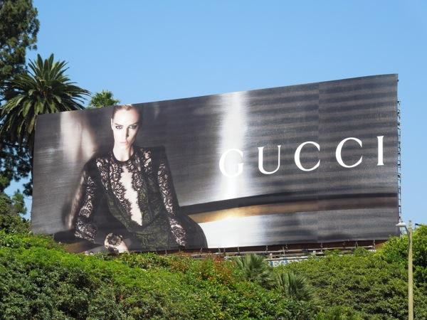 Gucci FW 2013 billboard