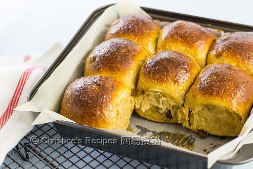 黑糖提子全麥餐包 Tangzhong Sultana Wheat Buns02
