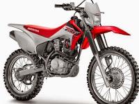 Motor Trail Honda CRF230F dengan Mesin 233cc di Perkenalkan
