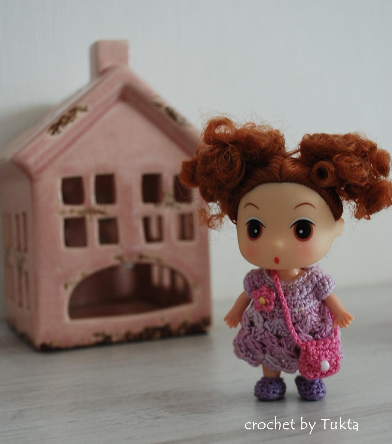 Crochet by Tukta: mini doll