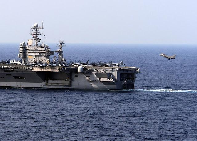 Carrier Rafale Landing