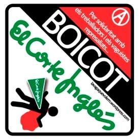 Boicot a El Corte Inglés