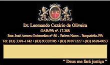 Advogado - Leomando Cezário