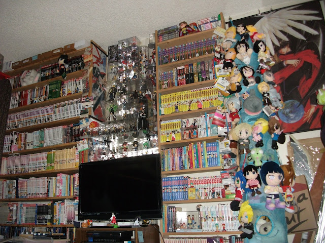 Mysticdragon3 39 s art journal love my otaku room for Anime themed bedroom ideas