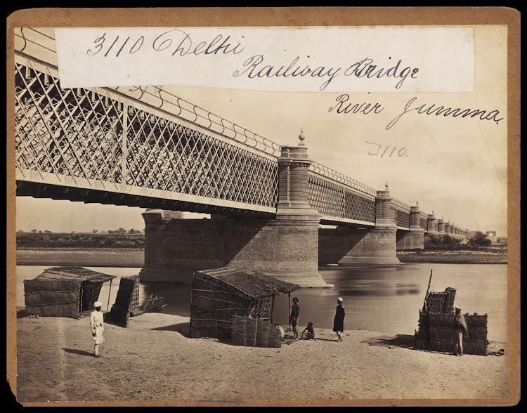 The Railway Bridge on River Yamuna - Delhi, Mid 19th Century