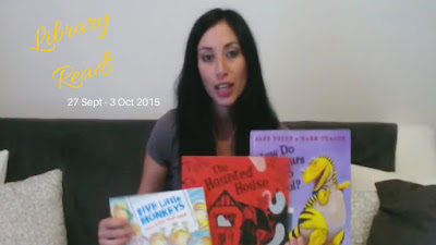 Library Reads: What The Kids Picked This Week 27 Sept - 3 Oct #SeptVidChallenge #LibraryReads