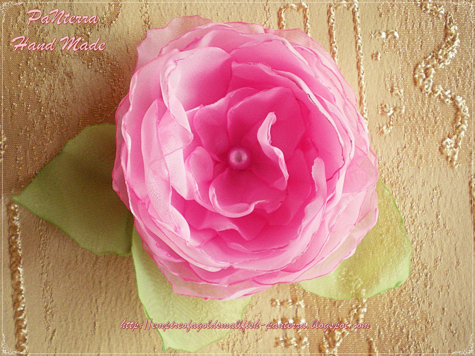 Цветы из своими руками из вуали 8